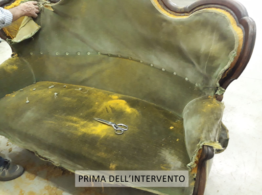 Tappezzeria Divani - Lavorazione artigianale a Brescia